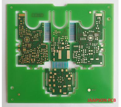 Semi-flexible PCB