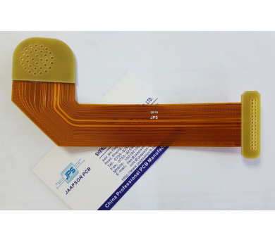 Flexible PCB with FR-4 stiffener
