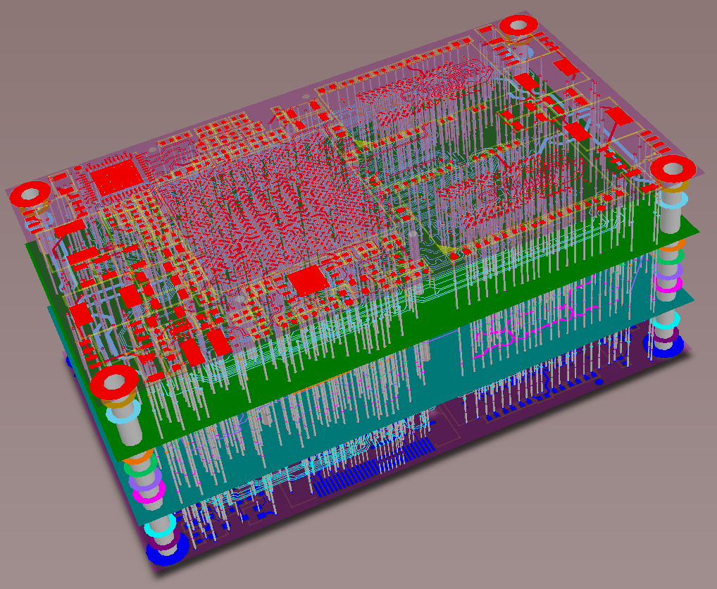 Standard PCB Layer Stack Up – 4 to 12 Layer