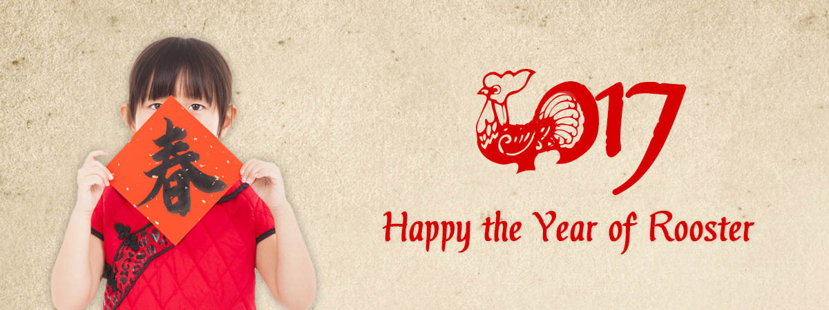 Prepare for the Chinese New Year 2017